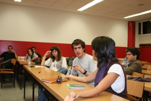 Imagen de la última sesión de debate del grupo BLA!