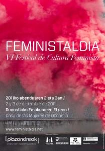 cartel Feministaldia 2011
