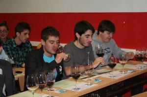 La cata de vinos fue una gran experiencia