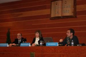Piñeiro, Gurruchaga y Arrese en la inauguración del seminario