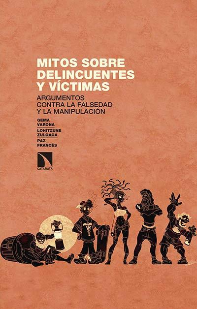 Portada del libro 'Mitos sobre delincuentes y víctimas'