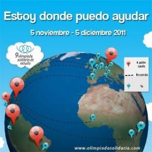 Cartel de la Olimpoada Solidaria 2011