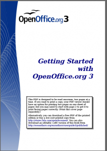 Getting Started With OpenOffice.org 3